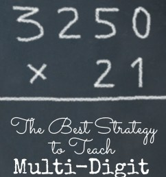 Simple Strategy to Teach Multi-Digit Multiplication [ 1185 x 800 Pixel ]