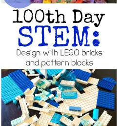 100th Day of School STEM Activities for K-6 {FREE!} [ 1602 x 800 Pixel ]