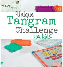 Want a Unique Tangram Game to Challenge Your Kids? [ 1501 x 800 Pixel ]