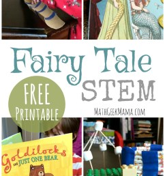 FREE} Fairy Tale STEM: Literature Based Math and Engineering [ 1329 x 800 Pixel ]
