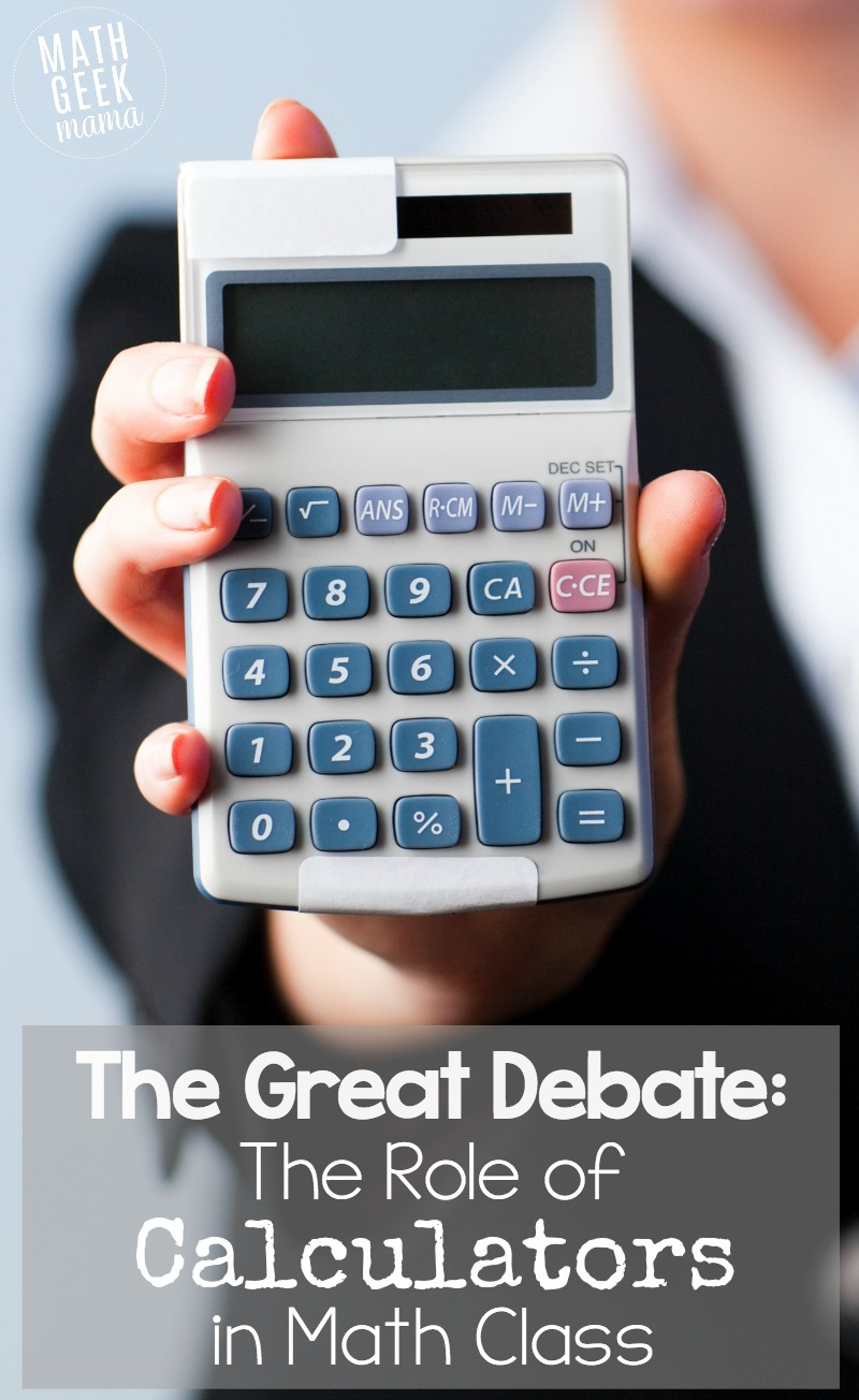 medium resolution of The Great Debate: The Role of Calculators in Math Education