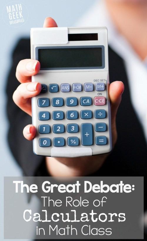 small resolution of The Great Debate: The Role of Calculators in Math Education