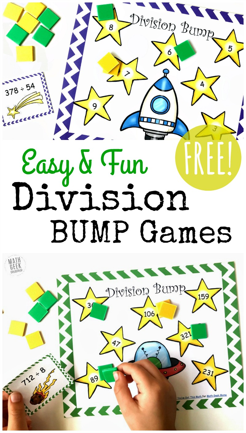 hight resolution of FREE Simple Printable Division Games {1-2 Digit Divisors}