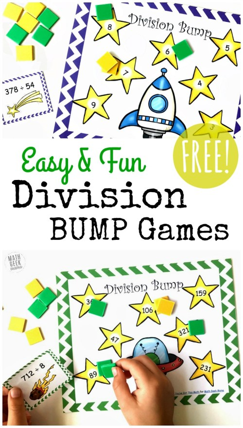 small resolution of FREE Simple Printable Division Games {1-2 Digit Divisors}