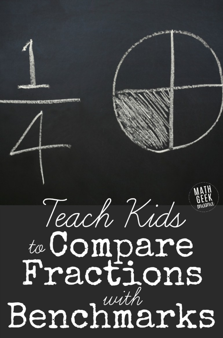 Developing Fraction Sense with benchmarks PIN