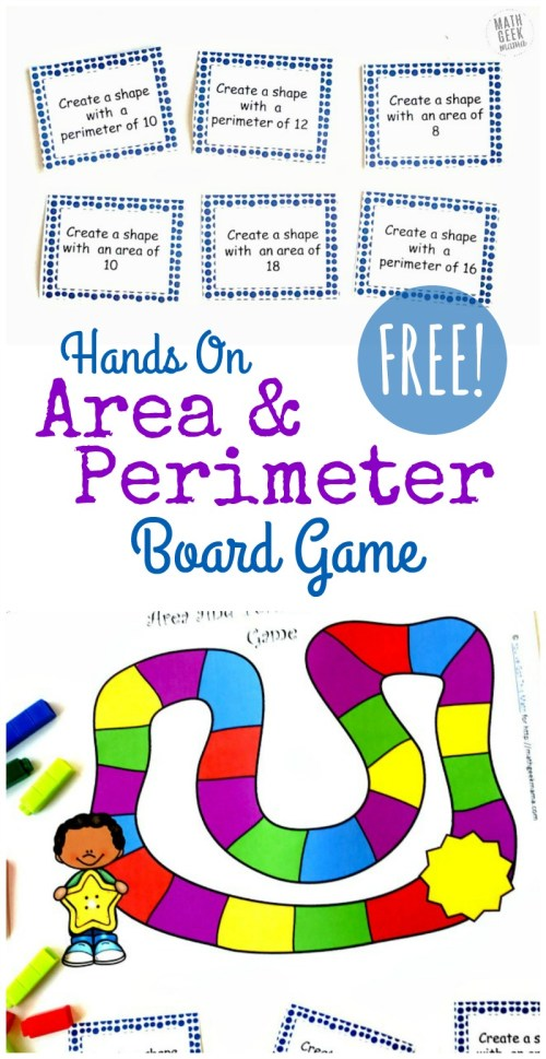 small resolution of Hands On Area and Perimeter Game {FREE}