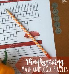 FREE} Fun Thanksgiving Math Puzzles for Older Kids [ 1000 x 800 Pixel ]