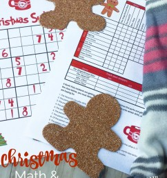 Christmas Math Puzzles for Kids {FREE!} [ 1041 x 800 Pixel ]