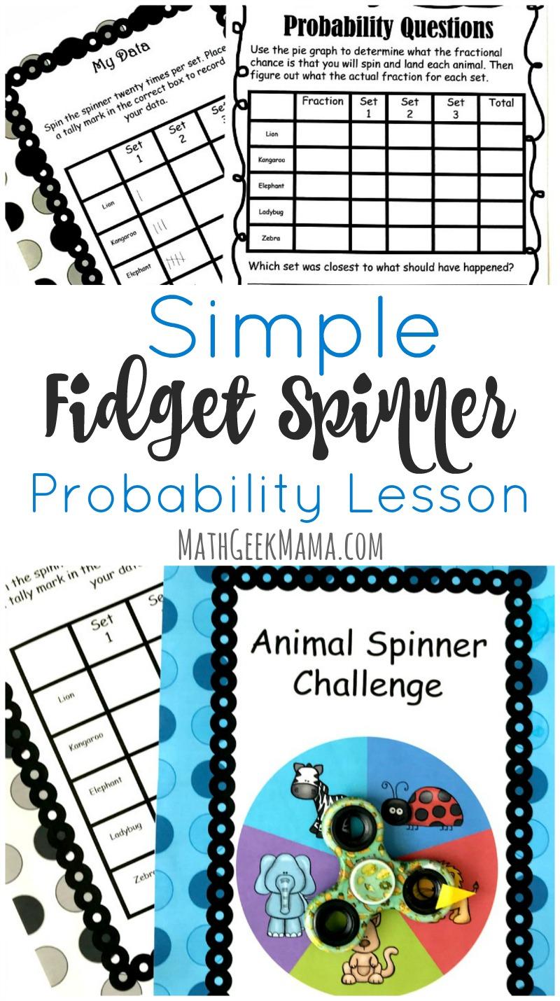medium resolution of Fidget Spinner Math Activity: Probability \u0026 Graphing