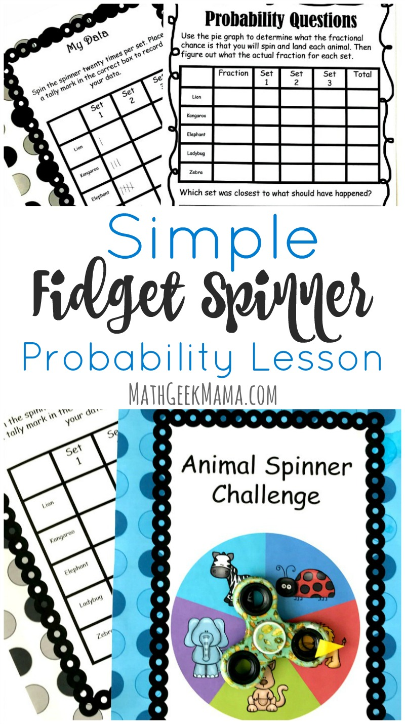 hight resolution of Fidget Spinner Math Activity: Probability \u0026 Graphing