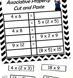 FREE} Properties of Multiplication Cut \u0026 Paste Practice [ 989 x 800 Pixel ]