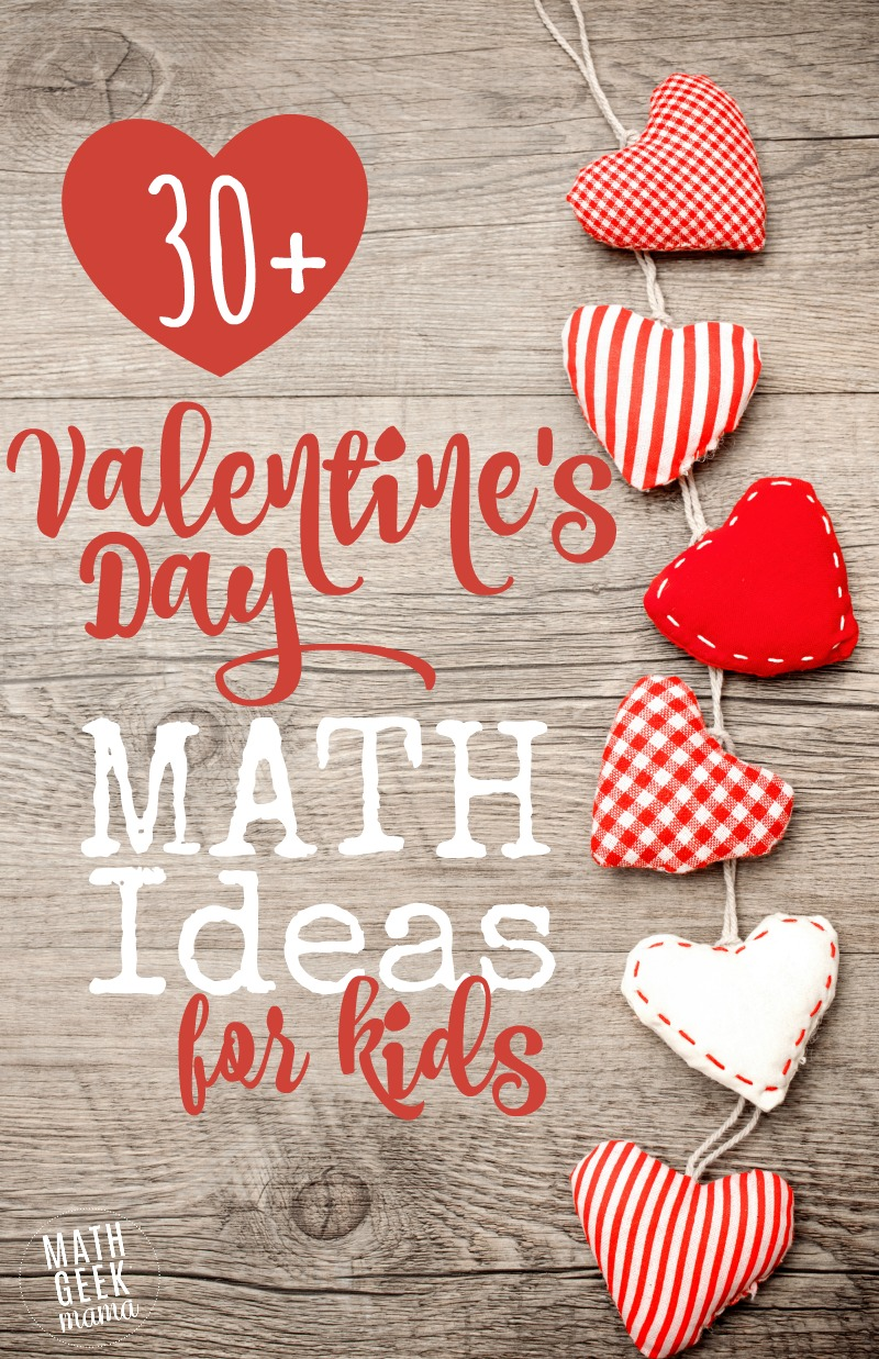 medium resolution of 30+ Valentine's Day Math Ideas for All Ages