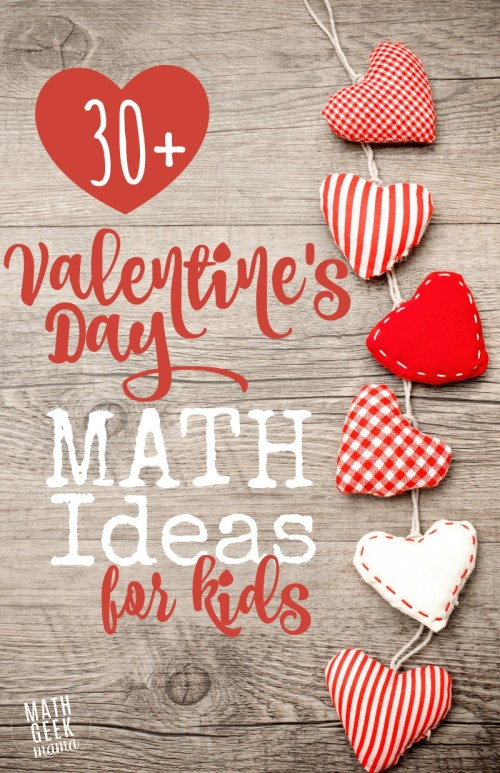 small resolution of 30+ Valentine's Day Math Ideas for All Ages
