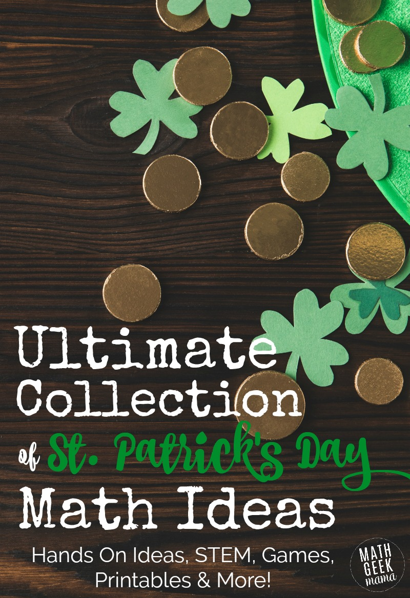medium resolution of The BEST St. Patrick's Day Math Activities {All Ages!}