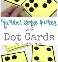 Number Sense Activities with Visual Dot Cards {Grades PreK-1} [ 1525 x 800 Pixel ]