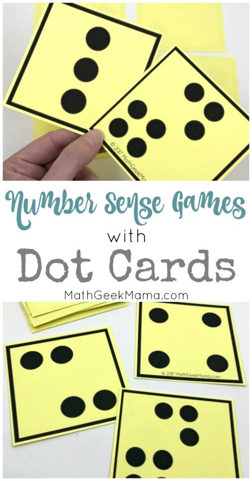 small resolution of Number Sense Activities with Visual Dot Cards {Grades PreK-1}