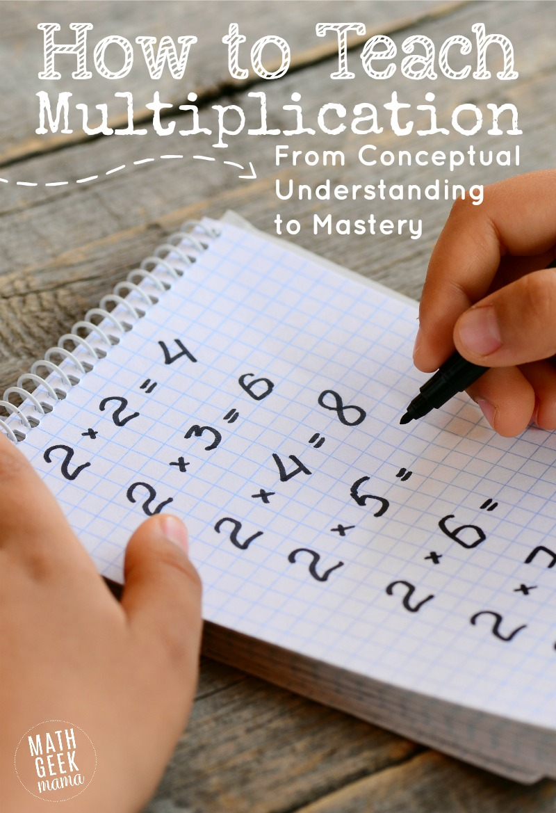 medium resolution of How to Teach Multiplication Facts That Stick {From Understanding to Fluency}