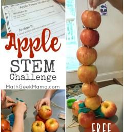 Apple STEM Challenge {Simple STEM for Kids} [ 1191 x 800 Pixel ]