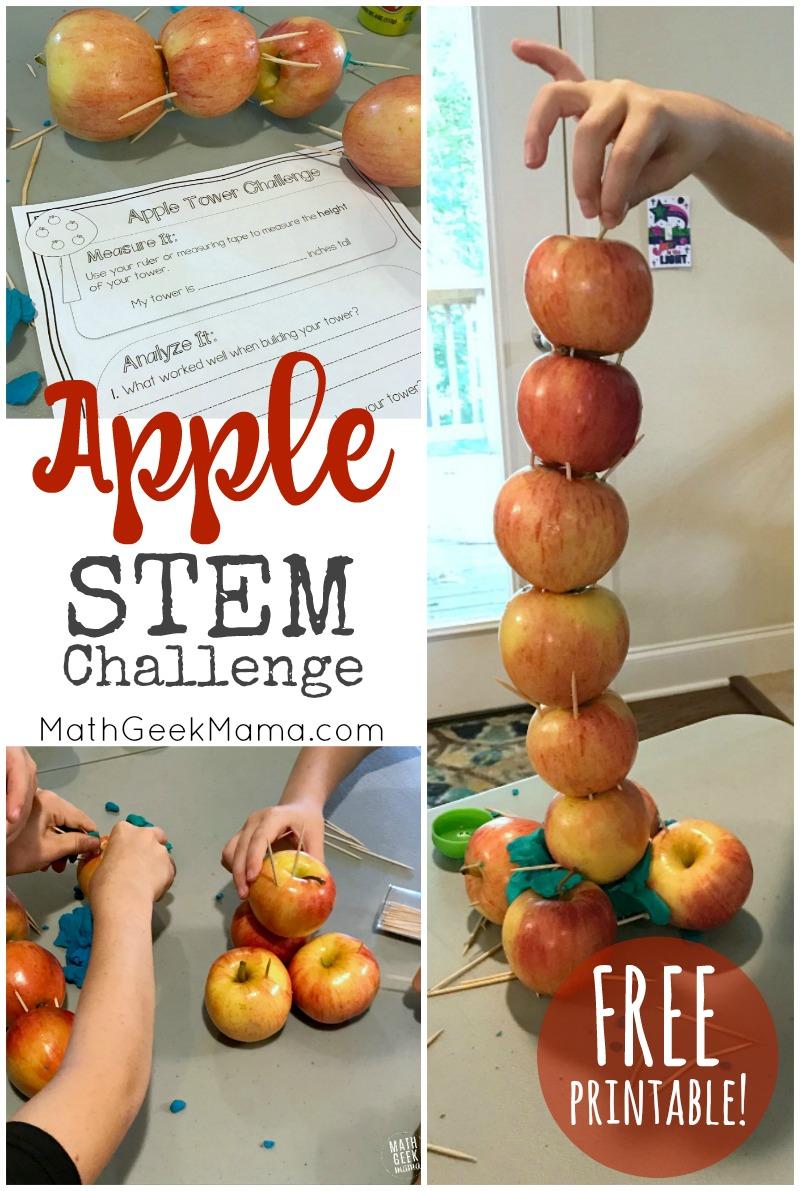 medium resolution of Apple STEM Challenge {Simple STEM for Kids}