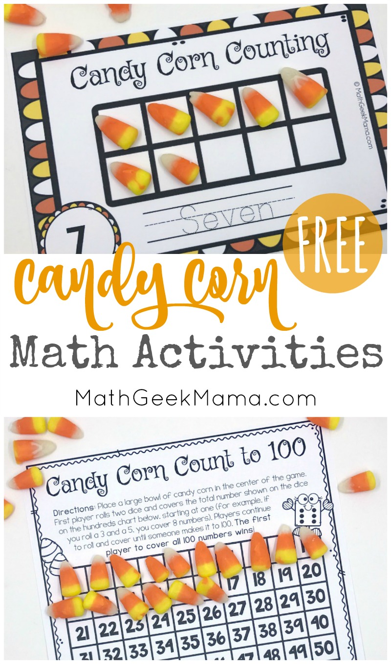 medium resolution of Candy Corn Math: Hands On Activities {With FREE Printables}