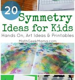 Symmetry for Kids: 20+ Ideas \u0026 Resources [ 1378 x 800 Pixel ]