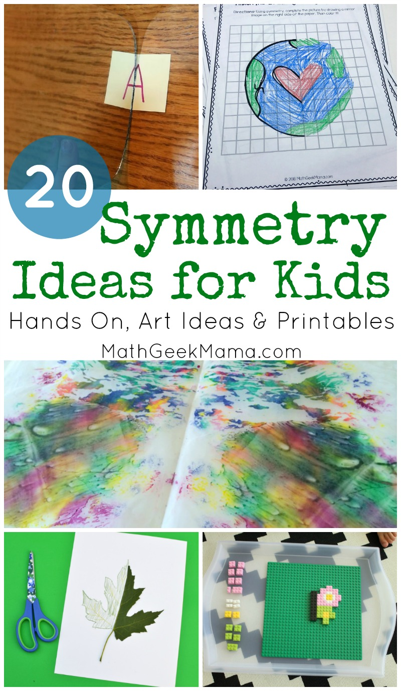 hight resolution of Symmetry for Kids: 20+ Ideas \u0026 Resources