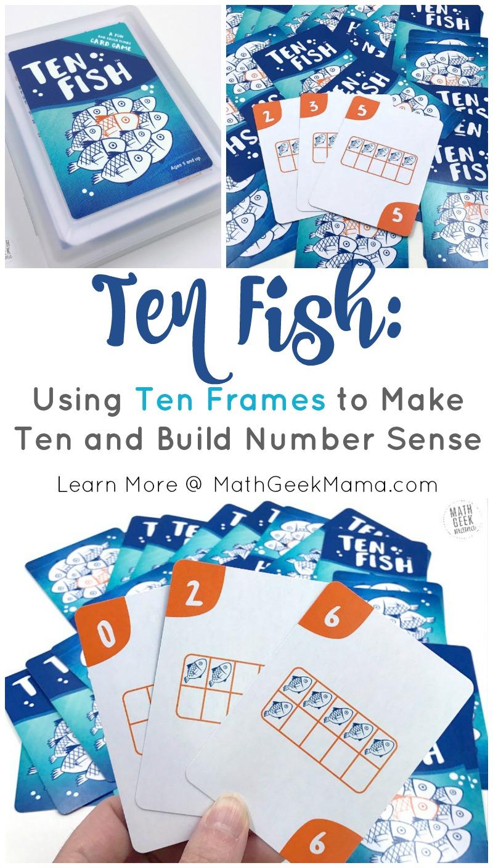 hight resolution of Ten Fish: A Simple Ten Frames Game Kids Will Love