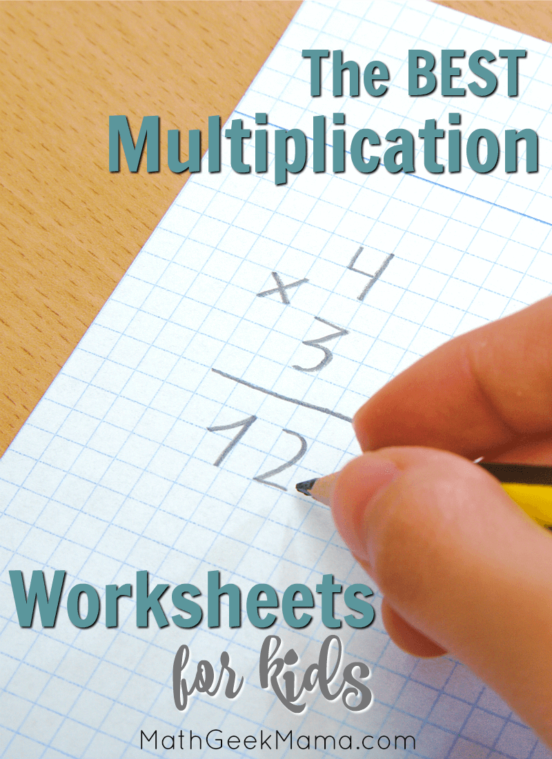 medium resolution of FREE} Multiplication Facts Worksheets for Kids: Interactive Ideas/Games