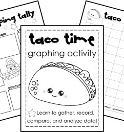 FREE} Taco Time: Tally and Bar Graph Practice [ 759 x 1200 Pixel ]