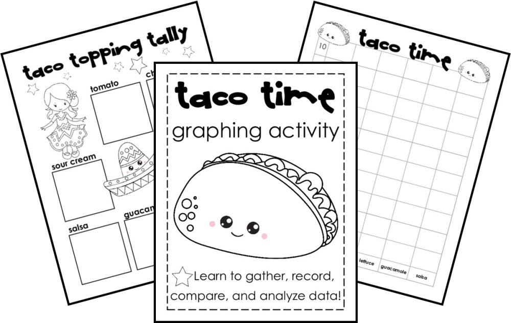 medium resolution of FREE} Taco Time: Tally and Bar Graph Practice