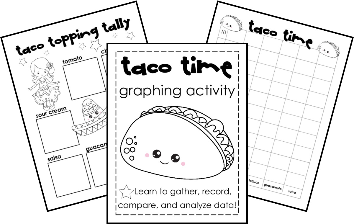 hight resolution of FREE} Taco Time: Tally and Bar Graph Practice