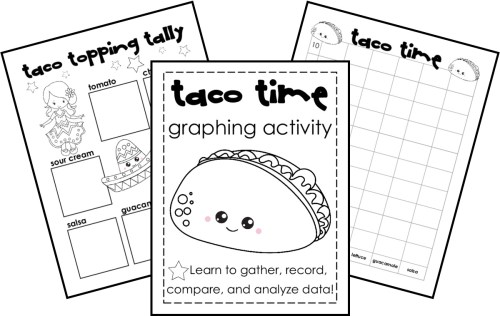 small resolution of FREE} Taco Time: Tally and Bar Graph Practice