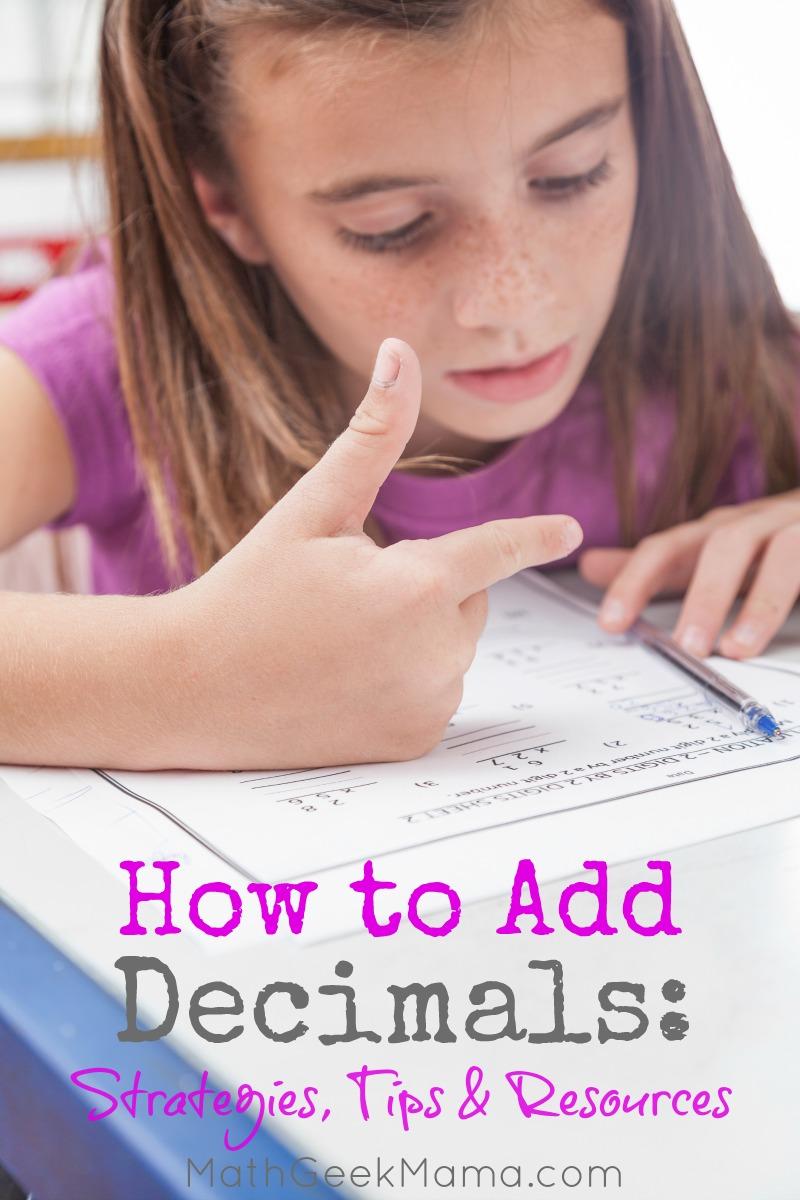 medium resolution of How to Add Decimals: Simple Strategies \u0026 Tips