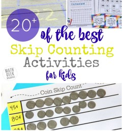20+ Unique Skip Counting Activities Kids Will Adore [ 1463 x 800 Pixel ]