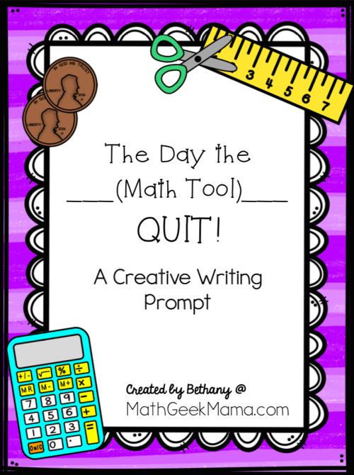 small resolution of FREE} Creative Math Writing Prompt: The Day the __ Quit!