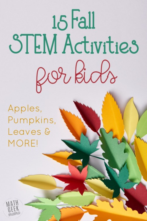 small resolution of 15+ of the BEST Fall STEM Activities: Easy + Fun!