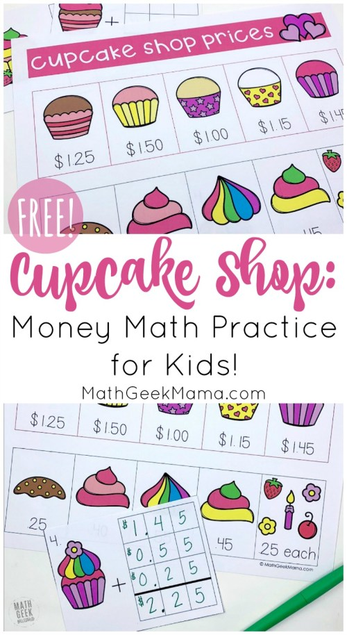 small resolution of FREE Worksheets That Teach About Money - Homeschool Giveaways