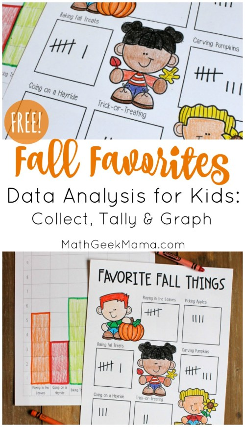 small resolution of Fall Favorites: Simple Data Analysis for Kids {FREE}