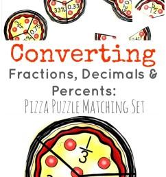 Convert Fractions to Decimals \u0026 Percents: FREE Puzzles [ 1371 x 800 Pixel ]