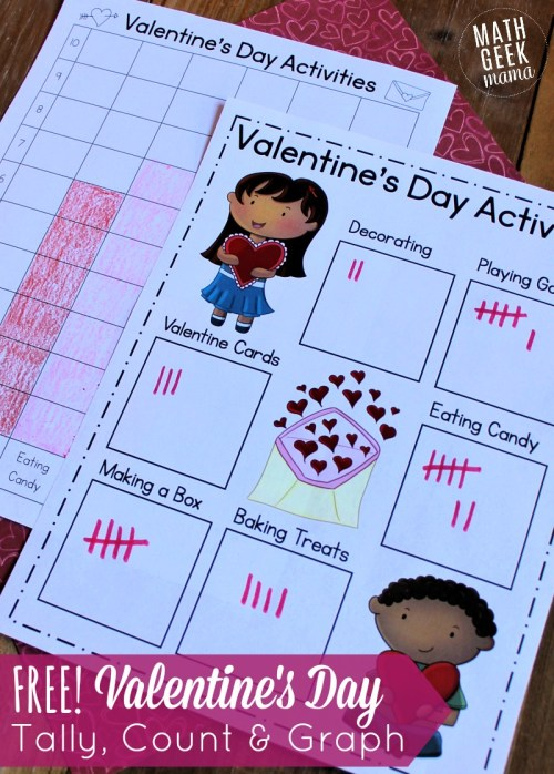 small resolution of Valentine's Day Data Analysis Activity for K-2   Math Geek Mama