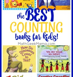 The BEST Counting Books for Kids [ 1436 x 800 Pixel ]