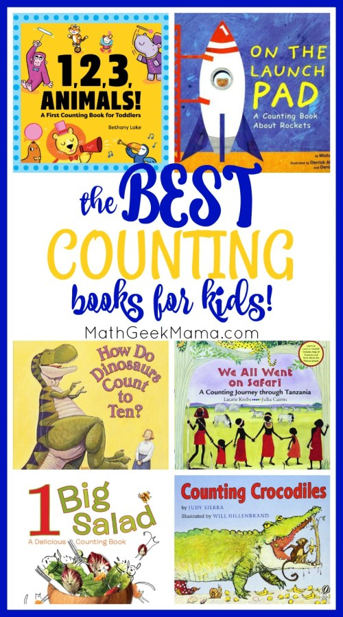 small resolution of The BEST Counting Books for Kids