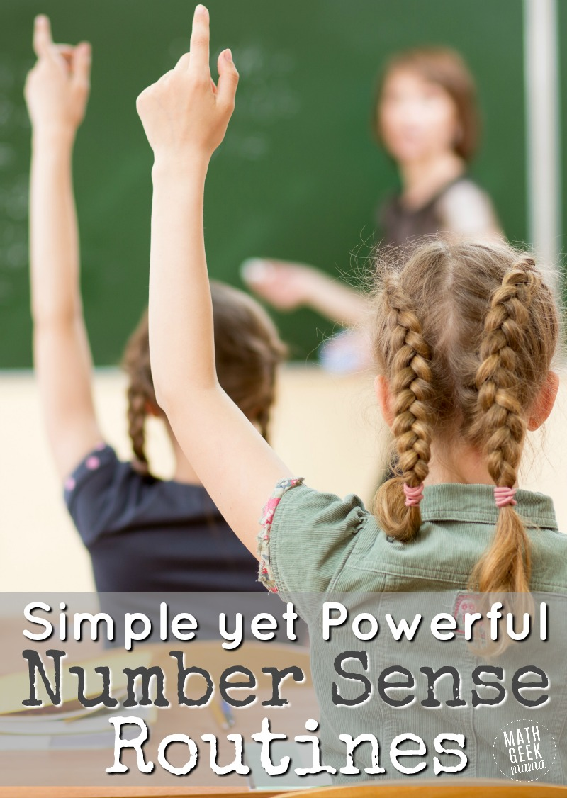 hight resolution of Simple Daily Math Warm-Ups to Build Number Sense   Math Geek Mama