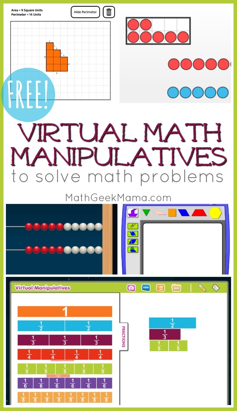 medium resolution of FREE Online Math Manipulatives for At Home Learning   Math Geek Mama