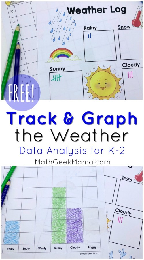 small resolution of FREE} Weather Graphing Activity: Data Analysis for K-2
