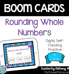 FREE} Rounding Practice for Kids   DIGITAL Self Checking Activity [ 1400 x 1400 Pixel ]