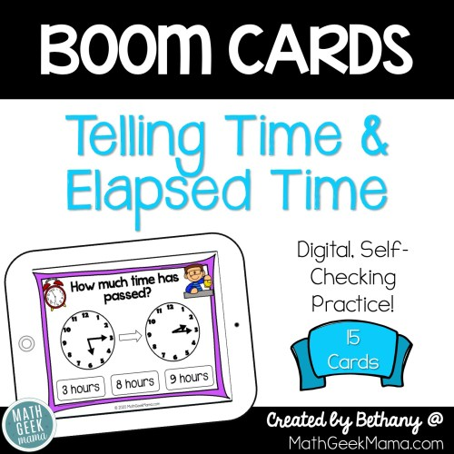 small resolution of FREE} Telling Time \u0026 Elapsed Time   DIGITAL Self-Checking Practice