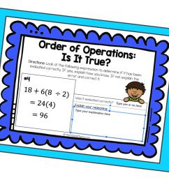 Order of Operations Error Analysis   DIGITAL Practice   Math Geek Mama [ 933 x 1400 Pixel ]