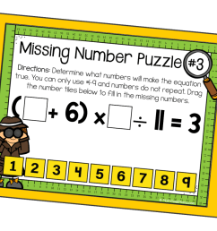 Digital Order of Operations Puzzles {FREE Download}   Math Geek Mama [ 933 x 1400 Pixel ]