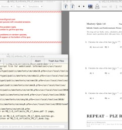 using the latex above you just compile until there isn t a warning and you re happy with difficulty level etc then print one copy of the quiz  [ 1500 x 925 Pixel ]